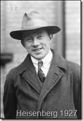 Heisenberg in 1927